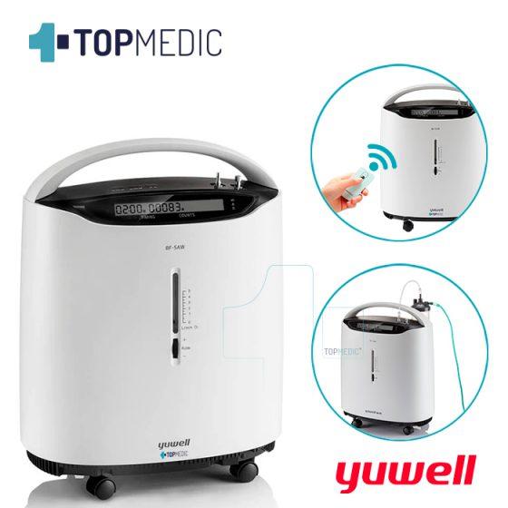 Concentrador-de-Oxigeno-Yuwell-8F5AW-TopMedic
